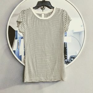 H&M striped tee, xs